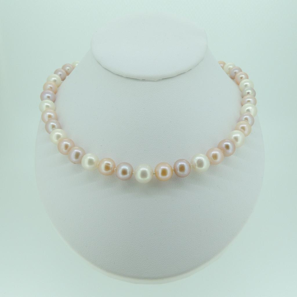 8mm Pastel Round Pearl Set - MHPearlJewellery.co.uk d538b96e1