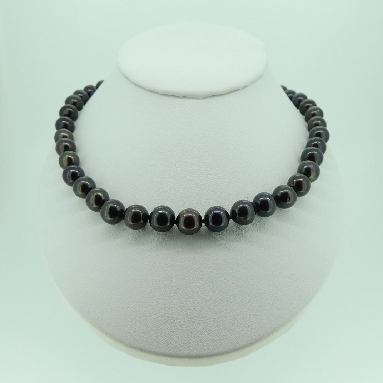 8mm black pearl necklace. Black Bedroom Furniture Sets. Home Design Ideas
